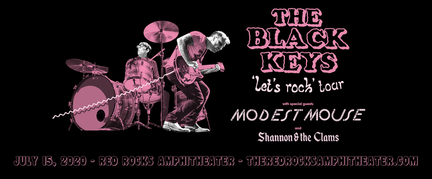 The Black Keys [CANCELLED] at Red Rocks Amphitheater