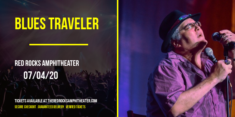 Blues Traveler [CANCELLED] at Red Rocks Amphitheater