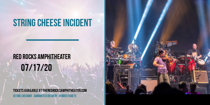 String Cheese Incident [CANCELLED] at Red Rocks Amphitheater