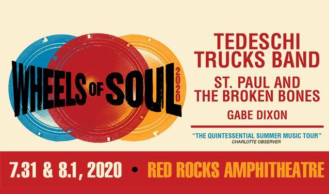 Tedeschi Trucks Band - 2 Day Pass at Red Rocks Amphitheater
