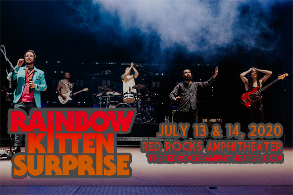 Rainbow Kitten Surprise & Mt. Joy at Red Rocks Amphitheater