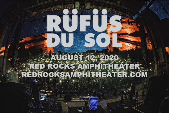 Rufus Du Sol at Red Rocks Amphitheater
