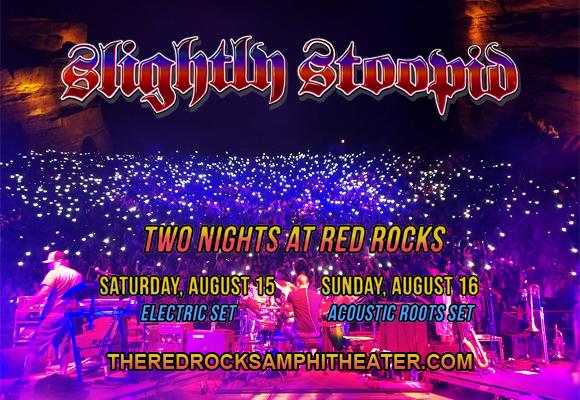 Slightly Stoopid [POSTPONED] at Red Rocks Amphitheater