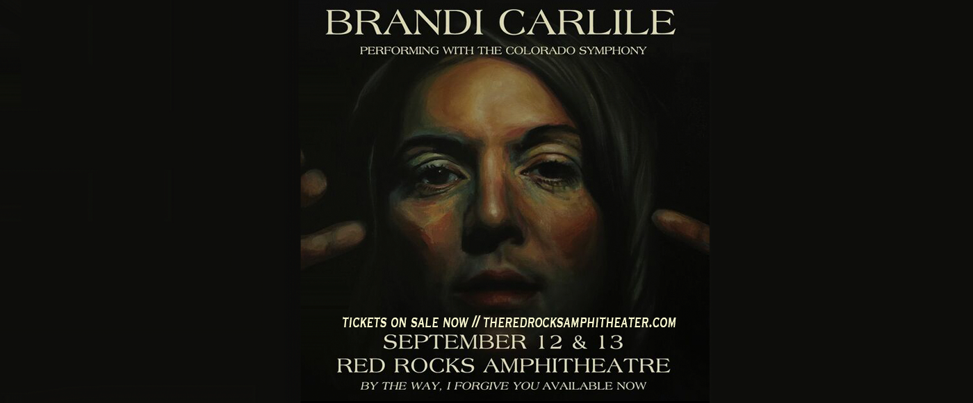 Brandi Carlile & The Colorado Symphony at Red Rocks Amphitheater