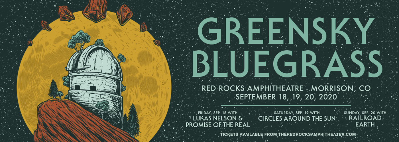 Greensky Bluegrass with Railroad Earth at Red Rocks Amphitheater