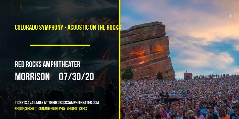 Colorado Symphony - Acoustic on the Rocks at Red Rocks Amphitheater