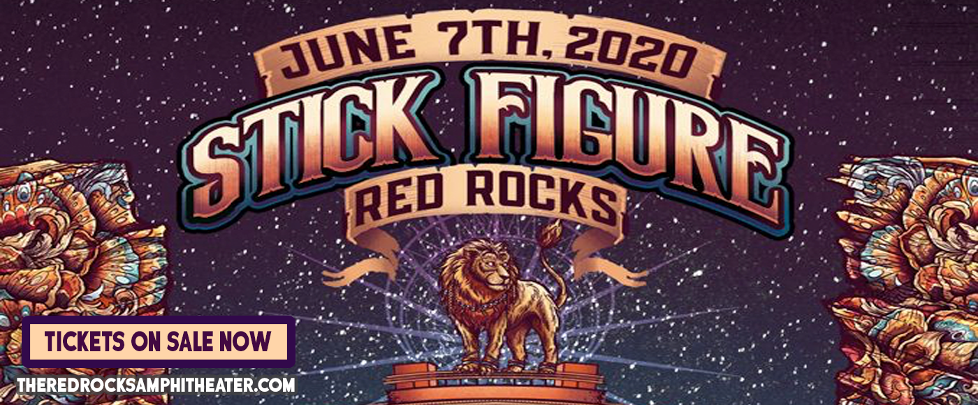 Stick Figure [CANCELLED] at Red Rocks Amphitheater