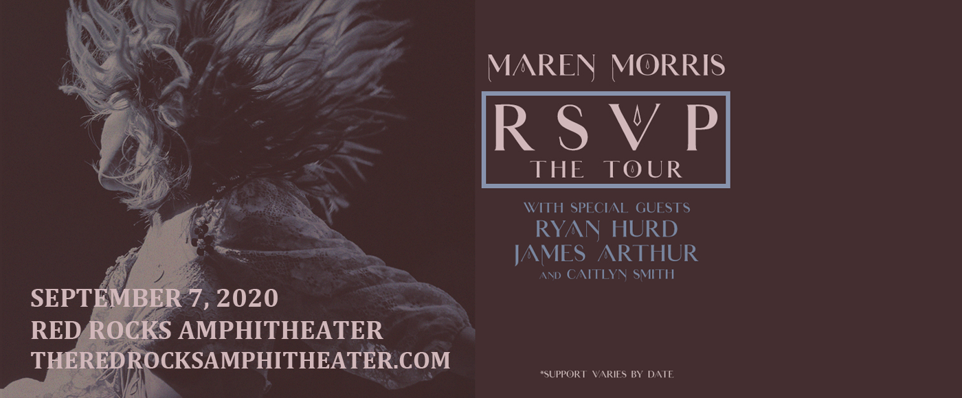 Maren Morris [CANCELLED] at Red Rocks Amphitheater