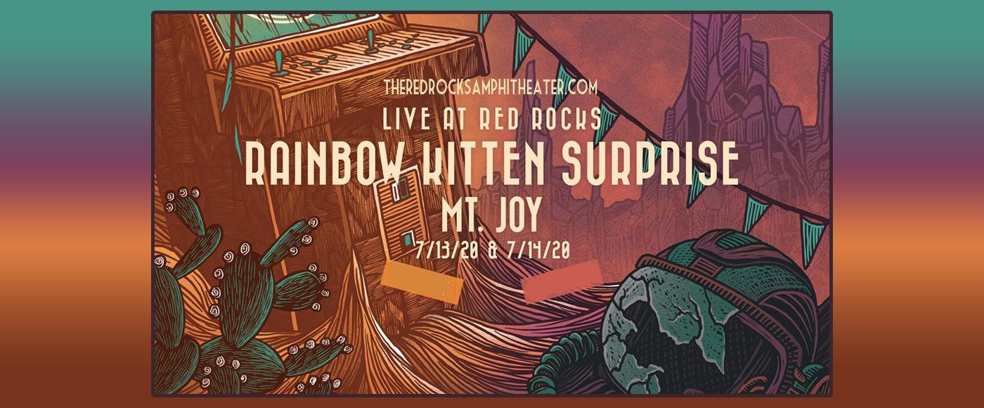 Rainbow Kitten Surprise & Mt. Joy [CANCELLED] at Red Rocks Amphitheater