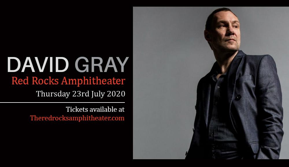 David Gray at Red Rocks Amphitheater
