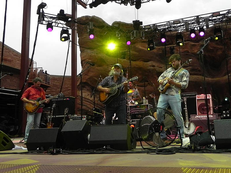 An Evening With Leftover Salmon at Red Rocks Amphitheater