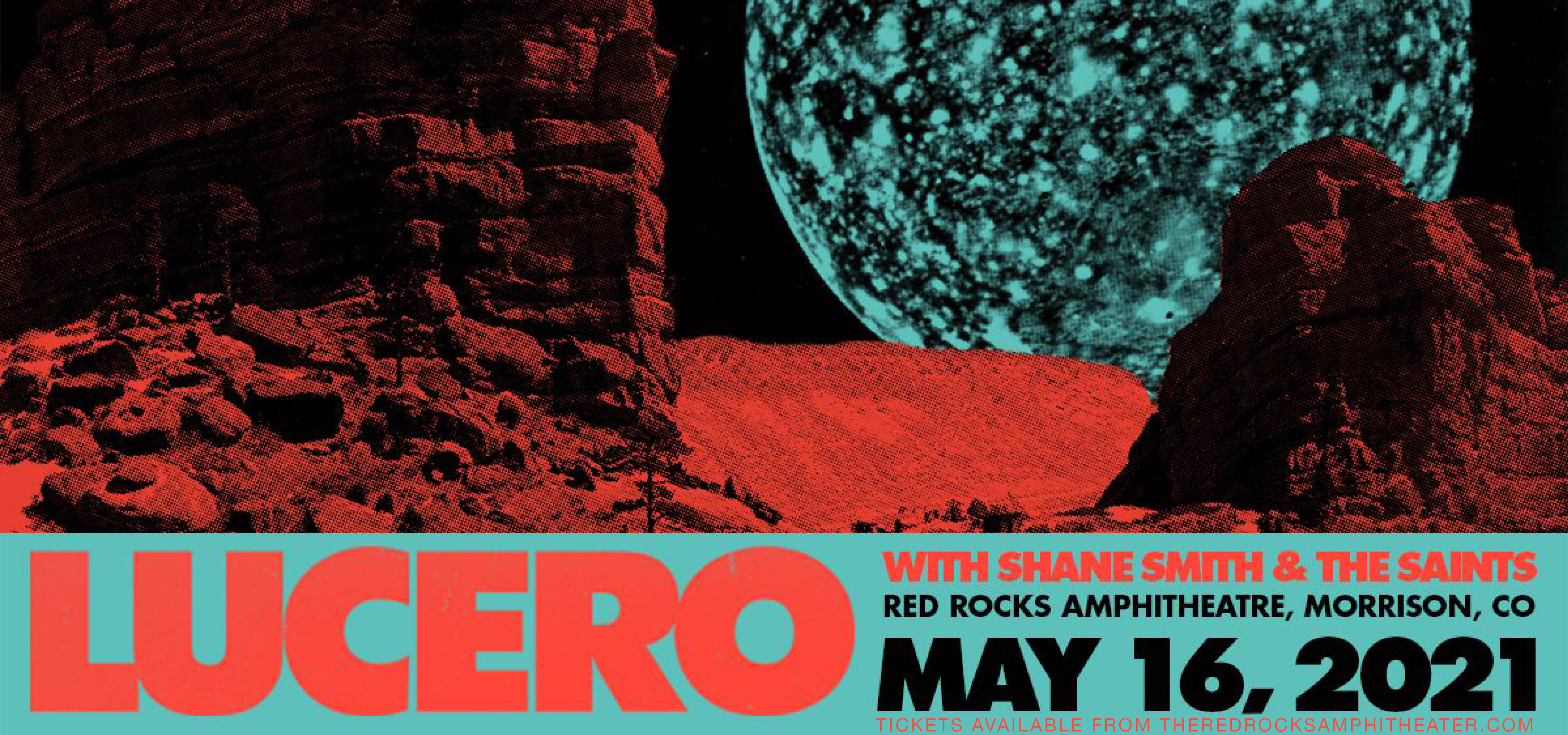 Lucero with Shane Smith and The Saints at Red Rocks Amphitheater