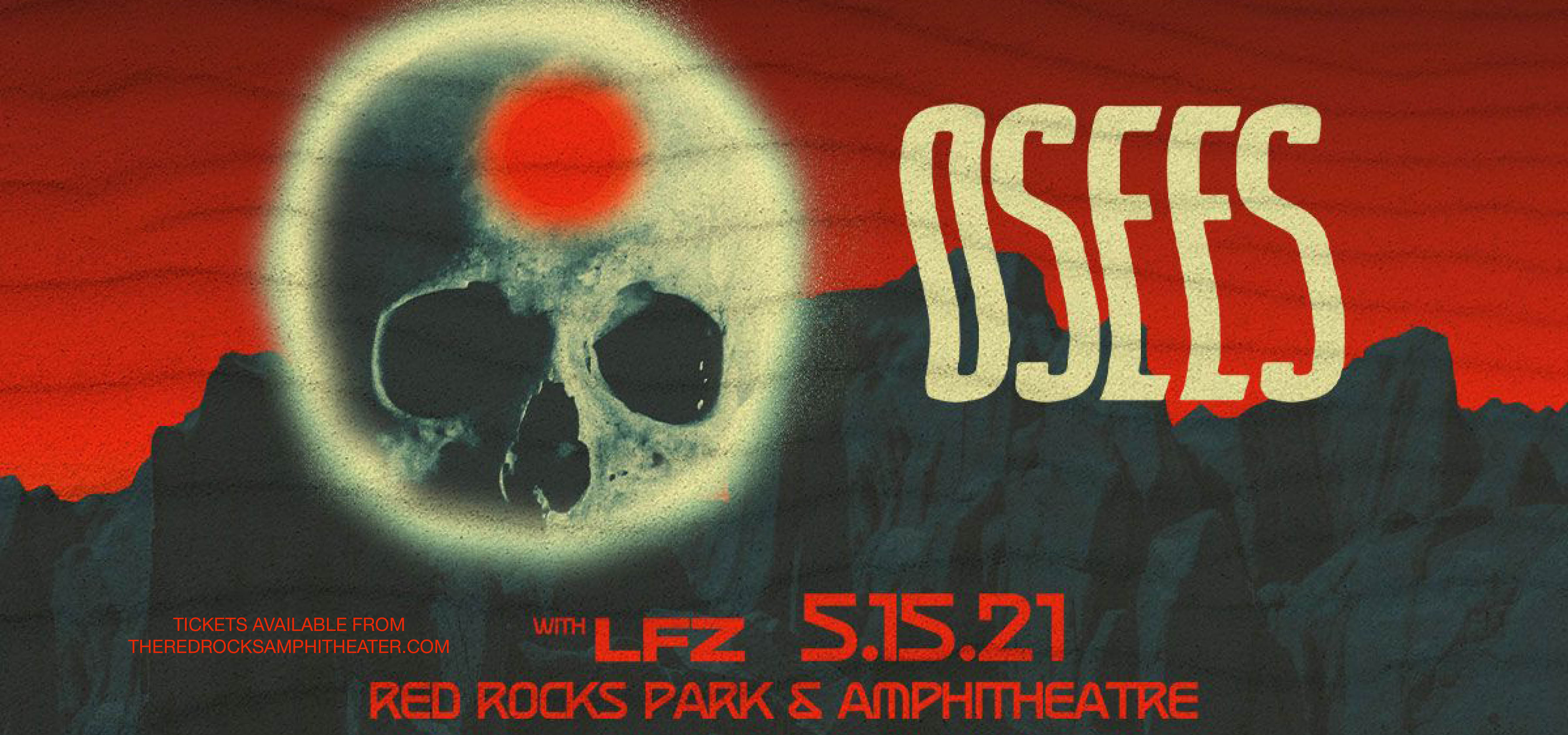 Osees at Red Rocks Amphitheater