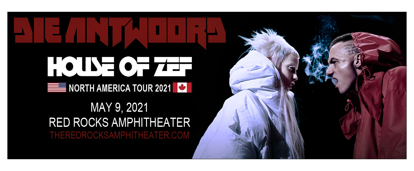 Die Antwoord [CANCELLED] at Red Rocks Amphitheater