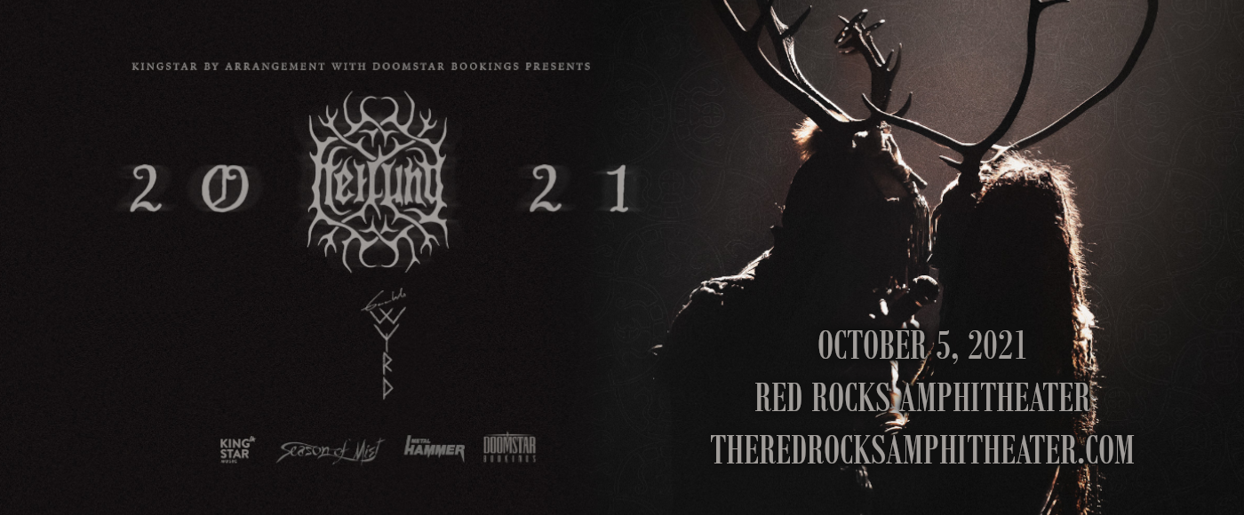 Heilung at Red Rocks Amphitheater