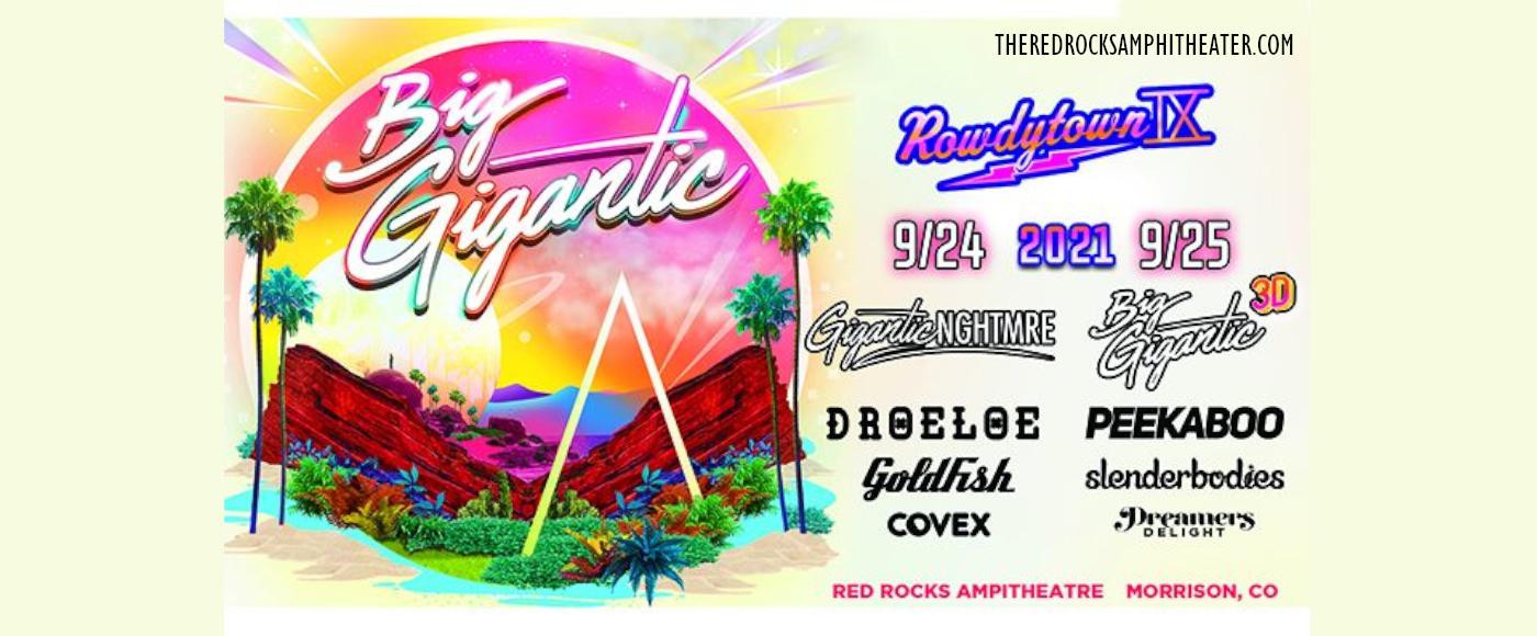 Rowdytown IX: Gigantic & Nghtmre at Red Rocks Amphitheater