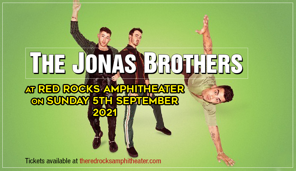 The Jonas Brothers at Red Rocks Amphitheater