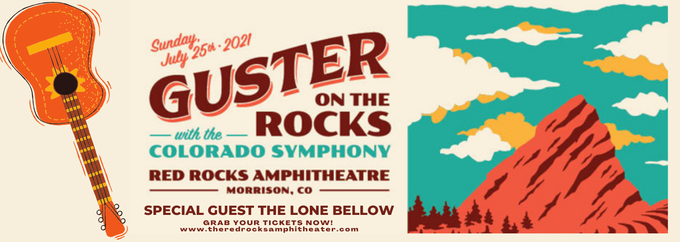 Guster at Red Rocks Amphitheater