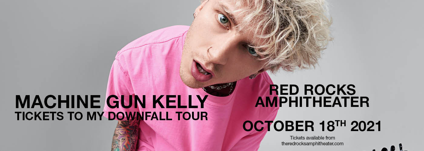 Machine Gun Kelly: Tickets to My Downfall Tour at Red Rocks Amphitheater