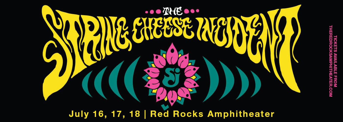 String Cheese Incident at Red Rocks Amphitheater