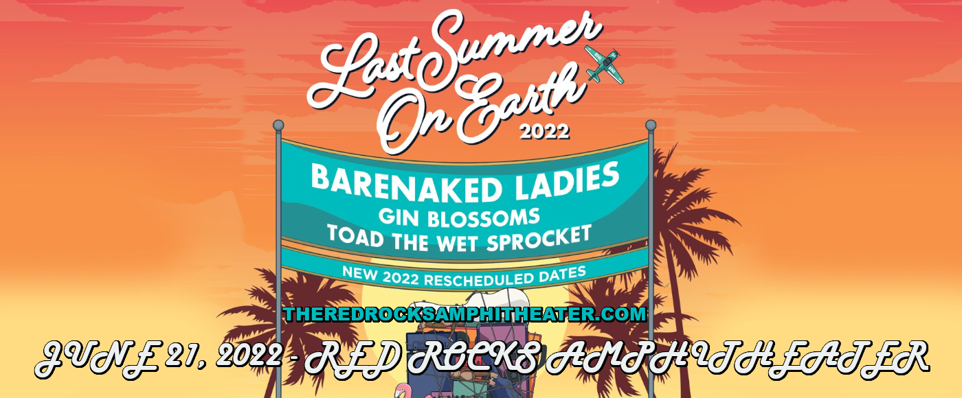 Barenaked Ladies, Gin Blossoms & Toad The Wet Sprocket at Red Rocks Amphitheater