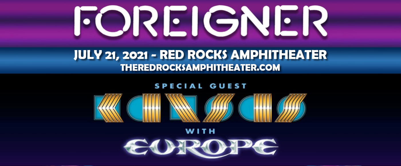 Foreigner, Kansas & Europe [CANCELLED] at Red Rocks Amphitheater