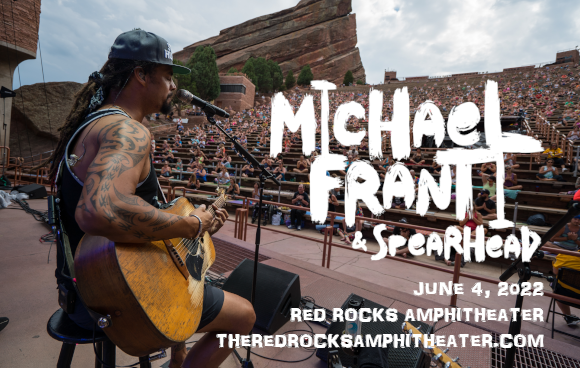 Michael Franti & Spearhead at Red Rocks Amphitheater