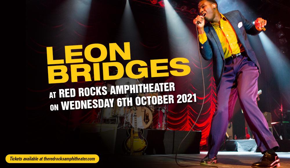 Leon Bridges at Red Rocks Amphitheater