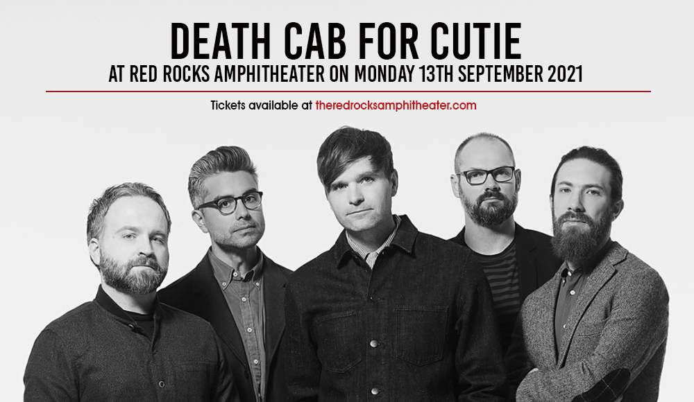 Death Cab for Cutie at Red Rocks Amphitheater