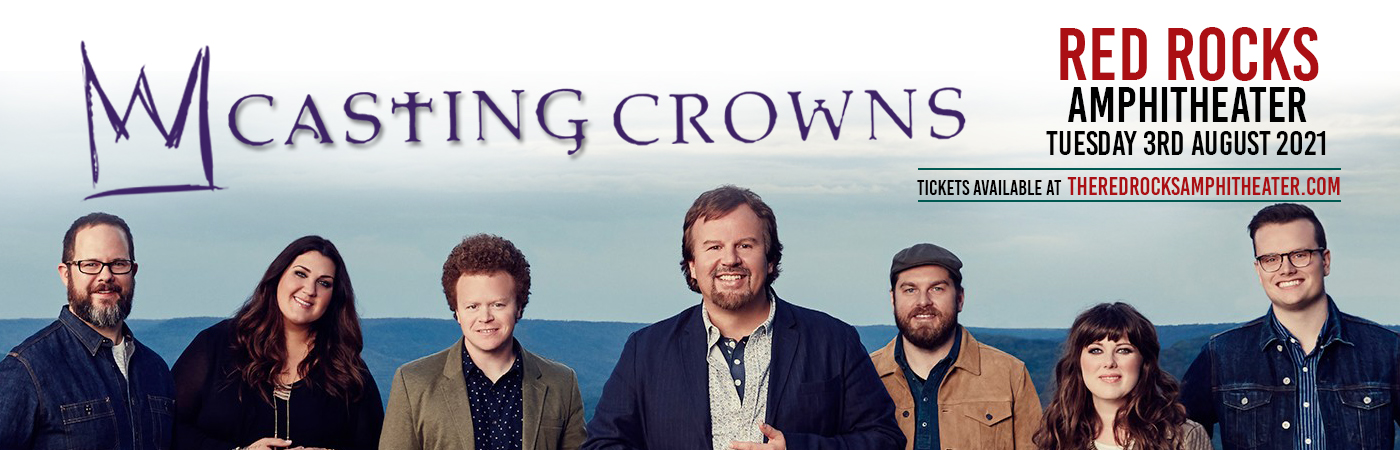 Casting Crowns at Red Rocks Amphitheater