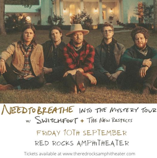 Needtobreathe at Red Rocks Amphitheater