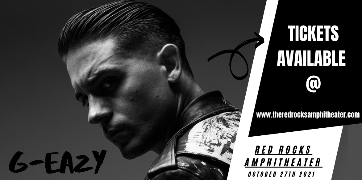 G-Eazy at Red Rocks Amphitheater