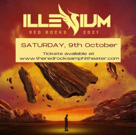 Illenium at Red Rocks Amphitheater