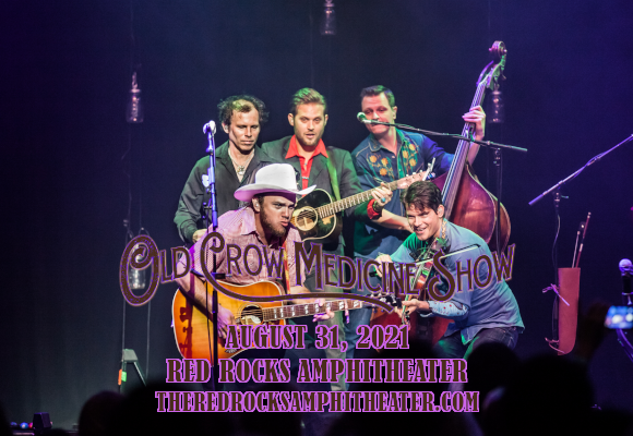 Old Crow Medicine Show & Dwight Yoakam at Red Rocks Amphitheater