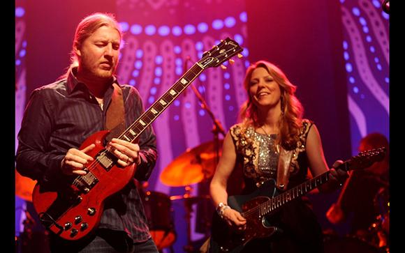 Tedeschi Trucks Band & Sharon Jones and the Dap Kings at Red Rocks Amphitheater