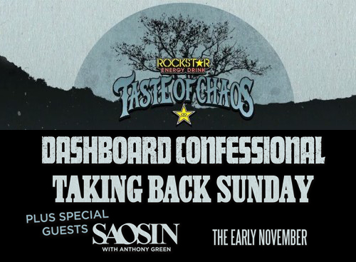 Taste of Chaos: Dashboard Confessional, Taking Back Sunday, Saosin & The Early November at Red Rocks Amphitheater