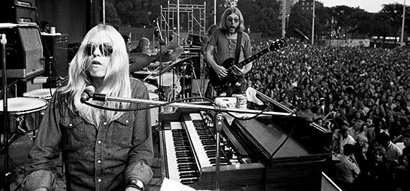 Laid Back Festival: Gregg Allman, ZZ Top, Richie Furay Band, Gabriel Kelley & Jaimoe's Jasssz Band at Red Rocks Amphitheater