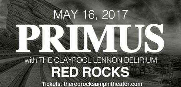 Primus & The Claypool Lennon Delirium at Red Rocks Amphitheater