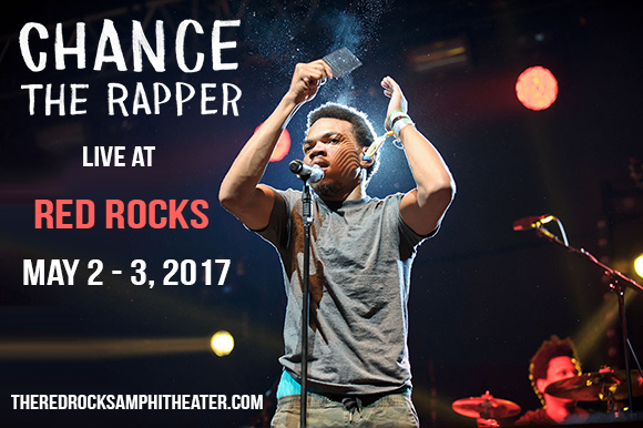 Chance The Rapper at Red Rocks Amphitheater