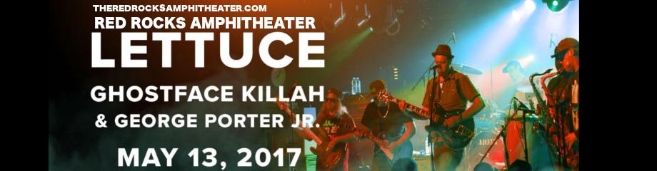 Lettuce, Ghostface Killah & George Porter Jr. at Red Rocks Amphitheater
