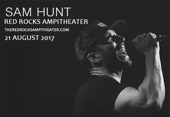 Sam Hunt, Maren Morris & Chris Janson at Red Rocks Amphitheater
