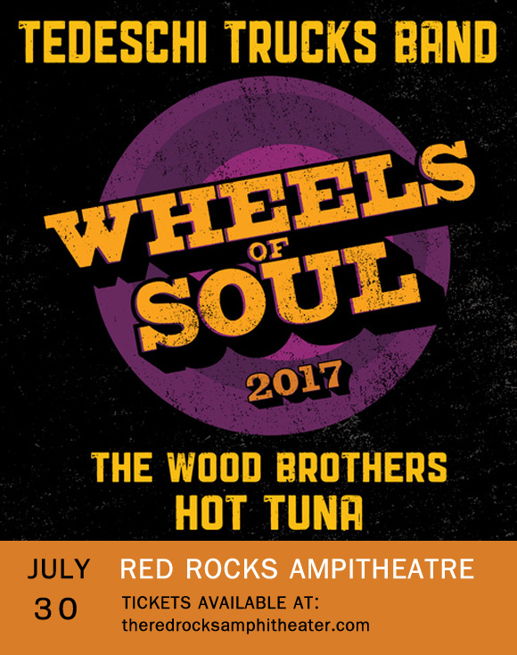 Tedeschi Trucks Band & The Wood Brothers at Red Rocks Amphitheater