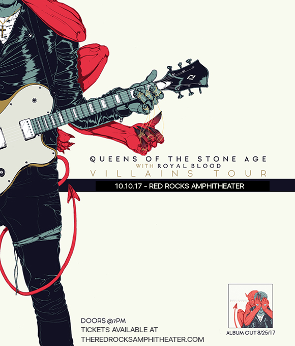 Queens Of The Stone Age & Royal Blood at Red Rocks Amphitheater