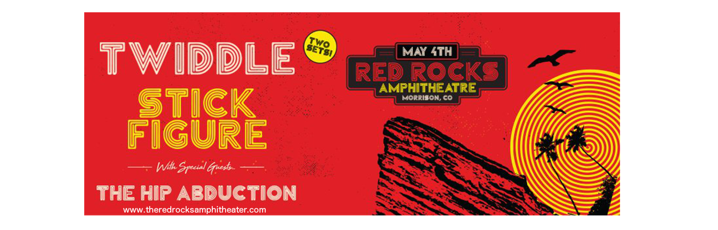 Twiddle & Stick Figure at Red Rocks Amphitheater