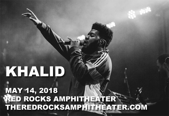 Khalid at Red Rocks Amphitheater