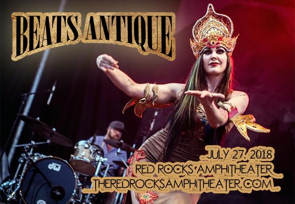 Beats Antique & The Polish Ambassador at Red Rocks Amphitheater