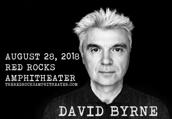 David Byrne at Red Rocks Amphitheater