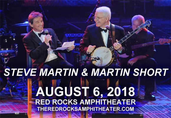 Steve Martin & Martin Short at Red Rocks Amphitheater