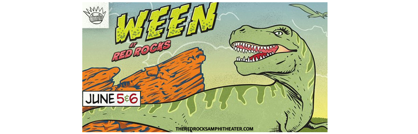Ween at Red Rocks Amphitheater