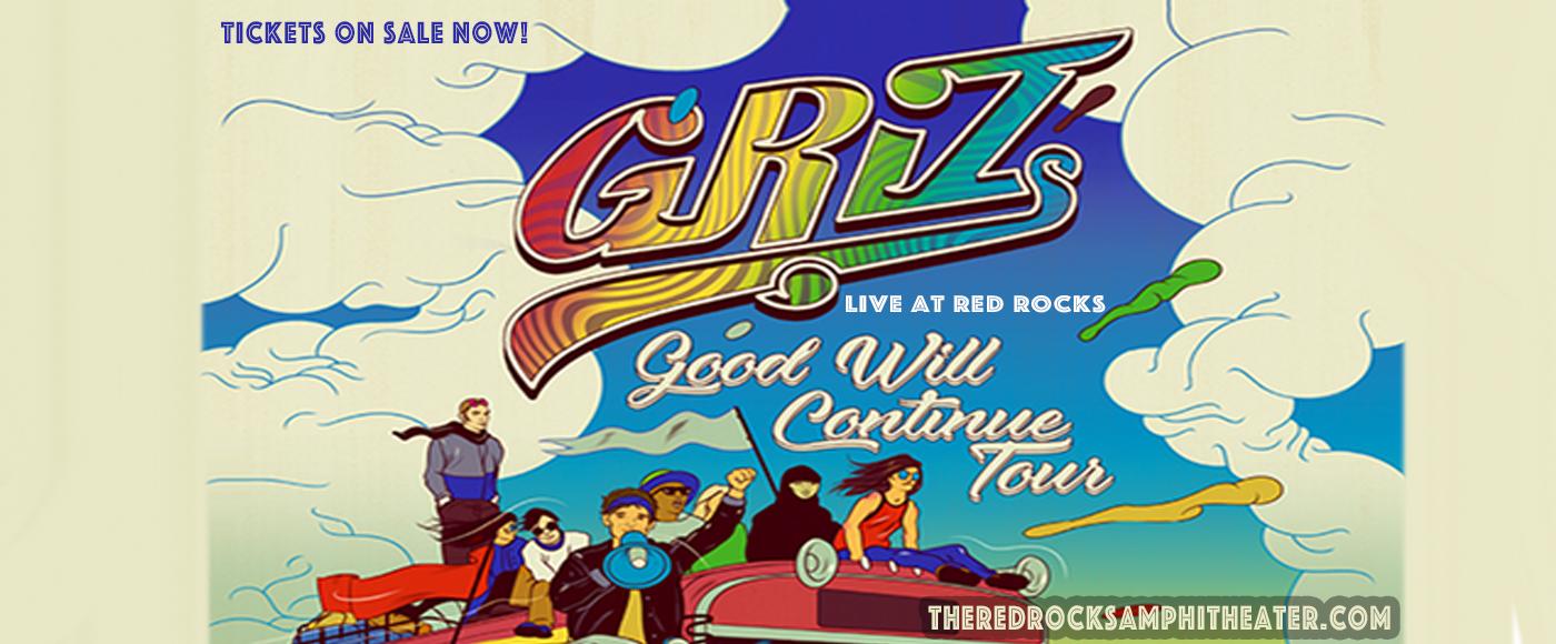 Griz at Red Rocks Amphitheater